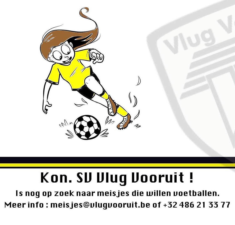 5adaef71315 meisjesvoetbal damesvoetbal Vlug Vooruit Merksem